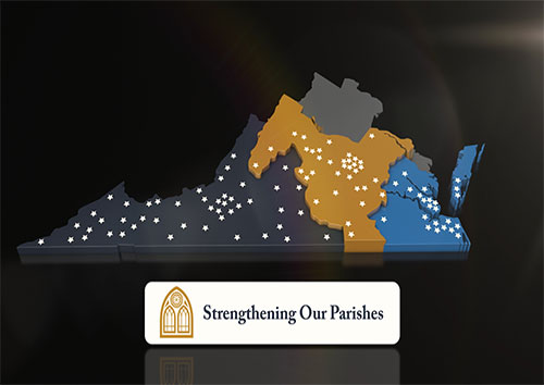 Parishes of the Catholic Diocese of Richmond